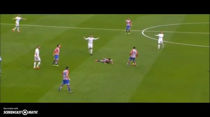 La agresión de Cristiano Ronaldo al futbolista Nacho Cases