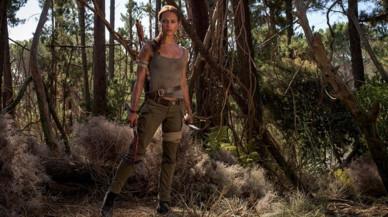 Alicia Vikander, como Lara Croft en 'Tomb Raider'