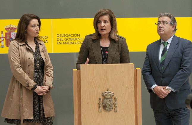 """Báñez pide """"sensibilidad y flexibilidad"""" a Iberia al aplicar la reforma laboral"""