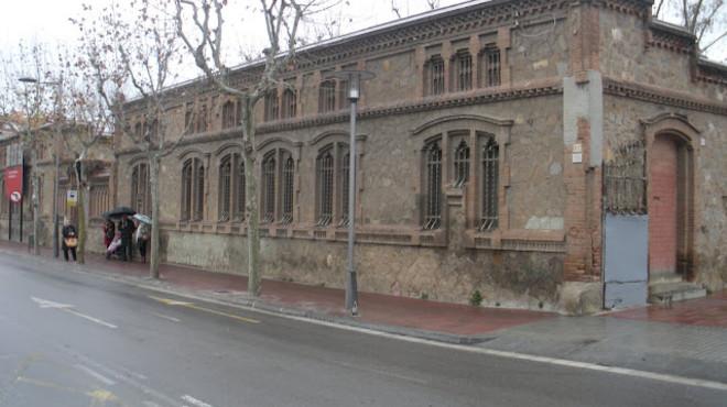 La antigua f�brica de Can Trinxet, en L'Hospitalet.