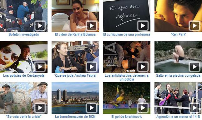 Los v�deos m�s vistos del 2012 en EL PERI�DICO
