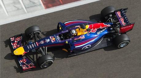 Carlos Sainz prueba el Red Bull durante la pasada pretemporada.