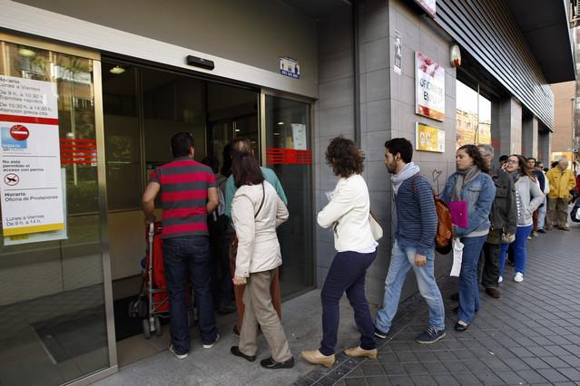 El paro llega a los 6 2 millones de personas for Oficina de empleo madrid