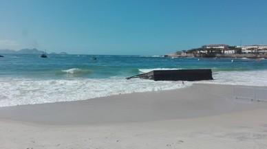 S'enfonsa al mar la plataforma de sortida de les proves d'aigües obertes de Rio-2016