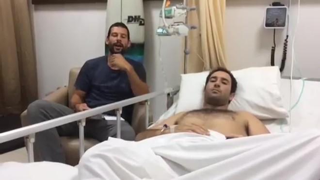 Un càntabre amb leucèmia atrapat a Bali demana ajuda urgent per tornar a casa