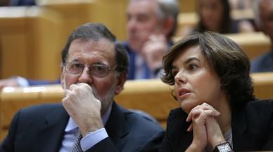 Rajoy delega en Santamaría la intervenció de Catalunya