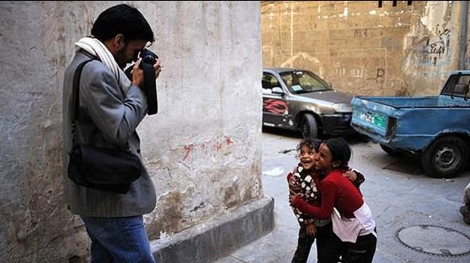 El fotoperiodista Samuel Aranda.