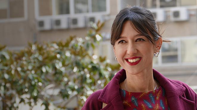 La alcaldesa de Santa Coloma de Gramenet, repasa la actualidad pol�tica con EL PERI�DICO