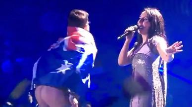 Un culo en Eurovisión