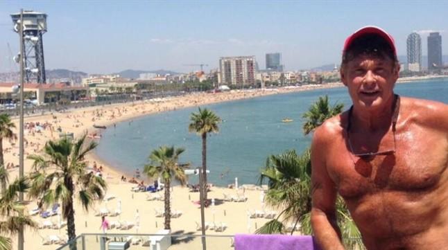 David Hasselhoff participará en la película de 'Los vigilantes de la playa'