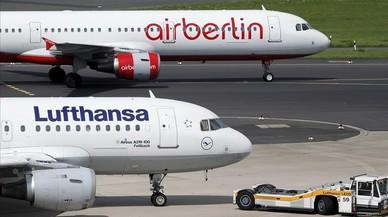 Lufthansa comprará la mayoría de Air Berlin