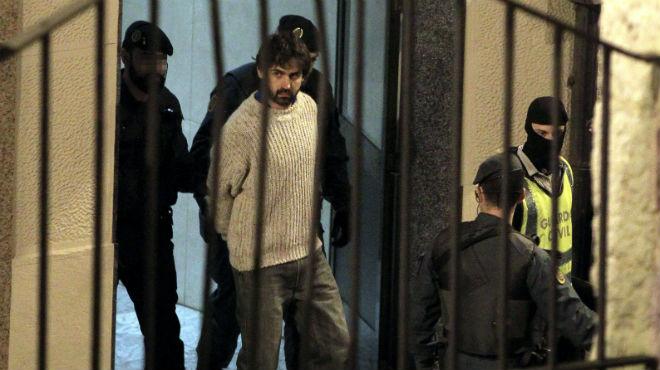 Detingut un presumpte col·laborador del comando Bizkaia d'ETA a Bilbao