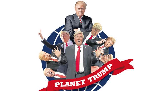 Trump, en la diana del humor