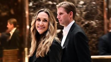 Eric Trump y si esposa Lara.