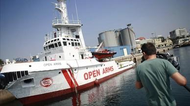 Proactiva Open Arms estrena buque insignia para sus rescates en el Mediterráneo