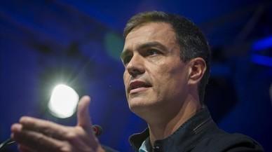 El PSOE hace equilibrios y confía en capitalizar las iniciativas tras el 1-O