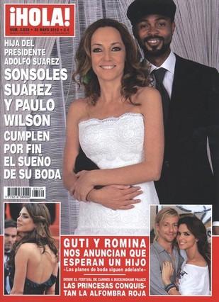 Sonsoles Suárez vende su boda a '¡Hola!'