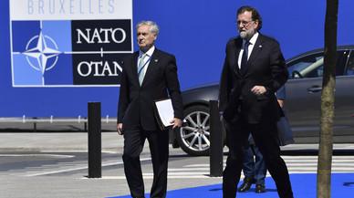 Rajoy blande ante Trump la participación de España en misiones internacionales