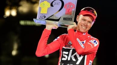 Chris Froome, Vuelta a Espanya i doblet per a la història