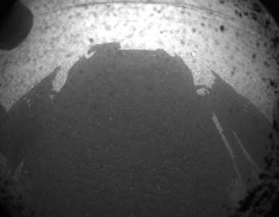El robot 'Curiosity' aterriza en Marte