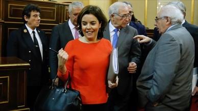 Santamaría advierte de que la nueva financiación autonómica necesita mayoría en el Congreso