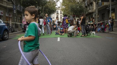 El Día Sin Coches vuelve a poner el foco en Via Laietana y Gran de Gràcia
