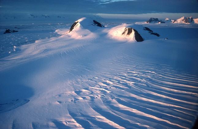 Montañas de hielo en la Antártida. EFE