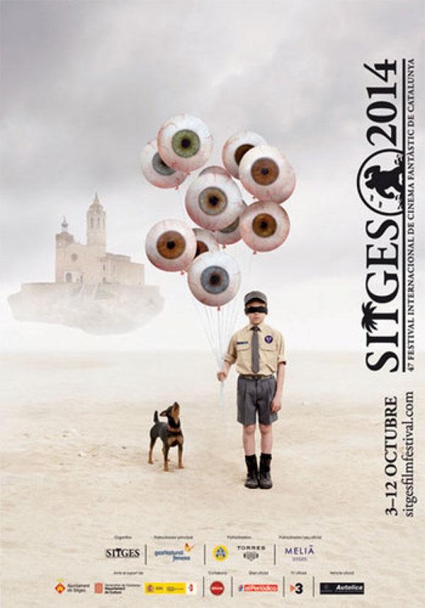 Cartel del festival de Sitges del 2014.