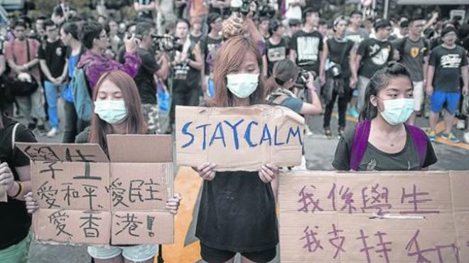 Manifestaci�n China
