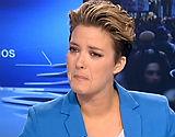 La presentadora no ha podido contener las l�grimas durante 'Los Desayunos de TVE'.
