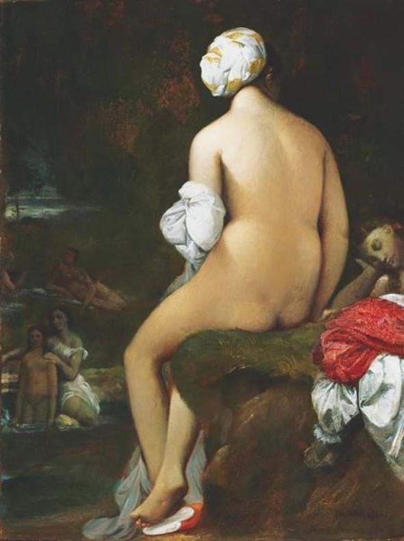 La pequeña bañista, de Ingres. En CaixaForum.