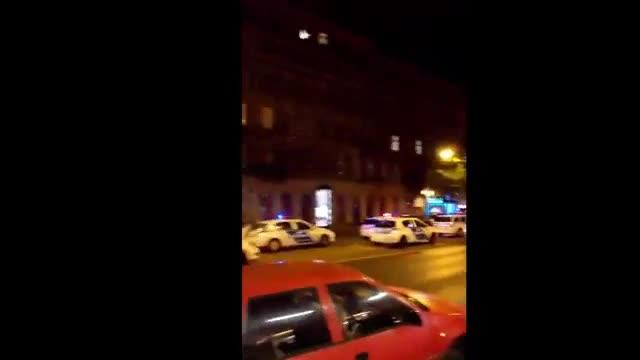 Explosi�n en un edificio del centro de Budapest