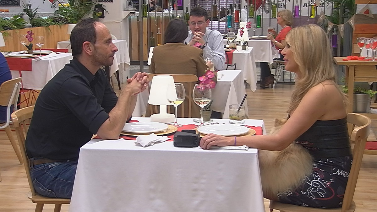 Malena Gracia, con Pere