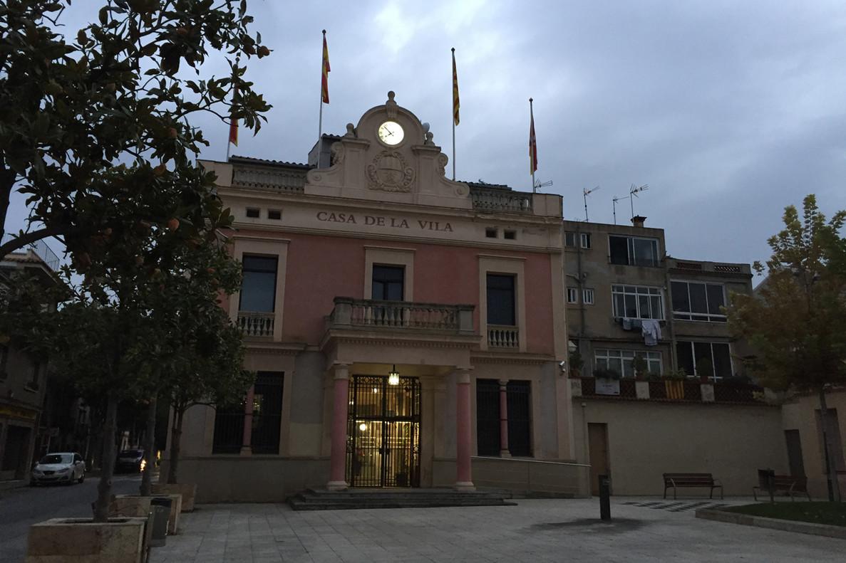 El Ayuntamiento de Rubí.