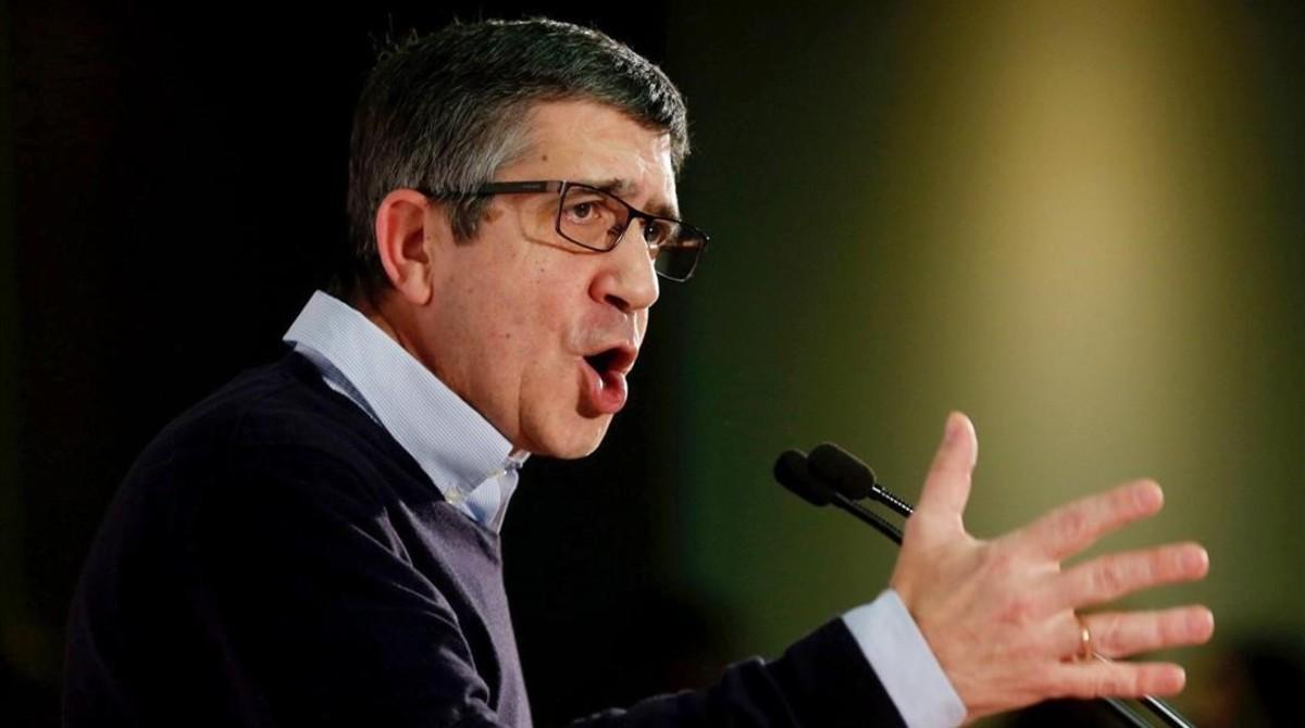 Patxi López, precandidato a la secretaría general del PSOE.
