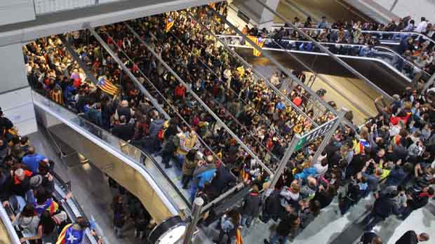 La vaga general ha produït afectacions a la mobilitat per talls puntuals del trànsit provocats en diverses carreteres catalanes.