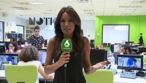 La periodista Cristina Saavedra
