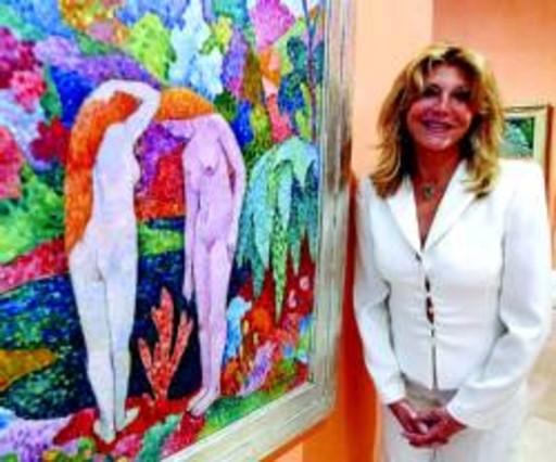 Carmen Cervera niega que una parte de su colección de arte esté en venta