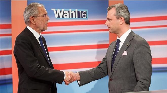 Només 144.000 vots separen els dos candidats a la presidència austríaca