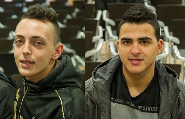 Cristian�P�rez (izquierda) y Said Moussadi.