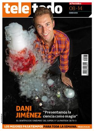 "Dani Jiménez: ""En la tele presentamos la ciencia como magia"""