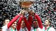 Federer completa el seu palmarès amb la Copa Davis