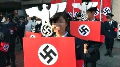 Polémica en Taiwán por un desfile nazi en una escuela