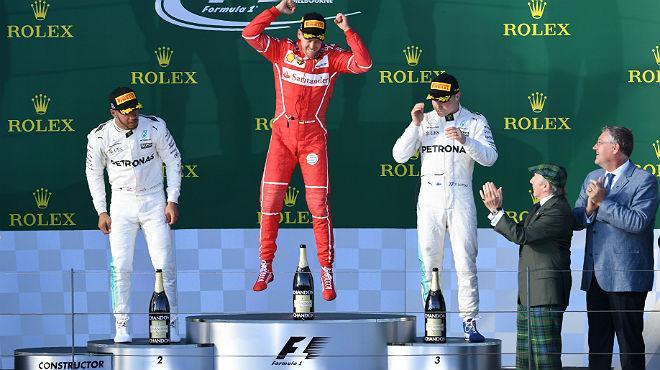 Ferrari sorprende a Mercedes