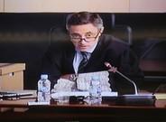 El fiscal Emilio Sánchez Ulled, durante la la lectura de sus conclusiones en el jucio del 'caso Palau'.