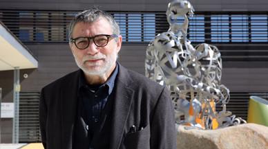 Jaume Plensa cedeix l'escultura 'Ànima' a l'Hospital Sant Joan de Déu d'Esplugues