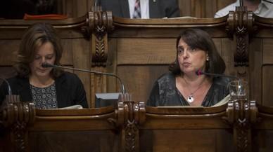 """CiU certifica el seu 'no' al pressupost """"amb superàvit"""" de Colau"""