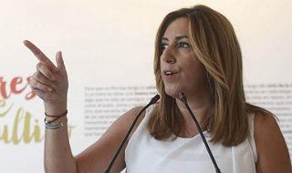 La l�der del PSOE andaluz, Susana D�az.