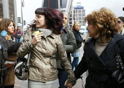 La monja María Gómez Valbuena se niega a declarar