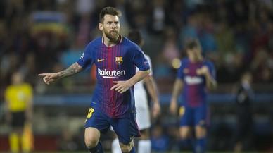 Messi, 50 y 100 a la vez